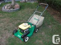 SELF PROPELLED ... LAWNMOWER ... No more heavy pushing