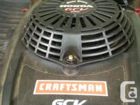 Self propelled Honda / Craftsman gcb 160 lawnmover