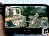 Selling a mint condition PS VITA with a 32 Gb memory