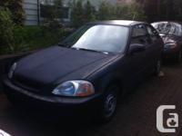 selling a 1997 civic hatchback 5spd manual tranny, its