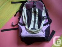 Hi there,   I am selling my used OBUS form backpack.