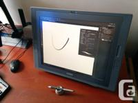 Marketing my Wacom Cintiq 21UX. 1500$. No wear, tear,