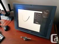 Marketing my Wacom Cintiq 21UX. 1500$. No wear, tear, for sale  British Columbia