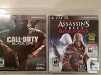 Offering 7 almost-new Ps3 games with guidelines, game