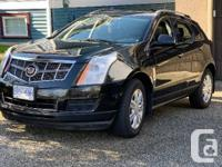 2011 Cadillac SRX4 Luxury edition Black on Black