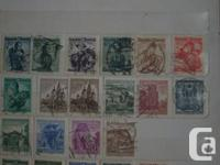 Used, I am selling my collection of Austrian stamps from over for sale  Ontario