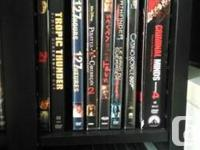 I'm selling my whole collection of DVD's including
