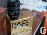 Selling Nikon 60mm f2.8 Marco AF-D, Haven't used it a