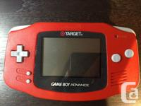 Looking to sell my red Target Gameboy Advance as soon