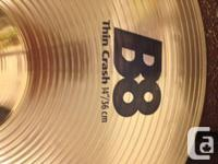 I am selling several Sabian cymbals, all of which are