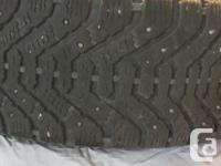 Hi, Selling various tires. this includes; 4 215-65-15