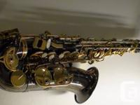 a newly bought Selmer La Voix II. Only been used for 3