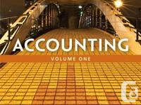 I have the following Seneca textbooks:  Accounting