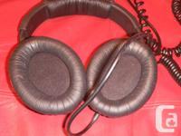 Like new pair of Sennheiser HD 280 pro over-ear