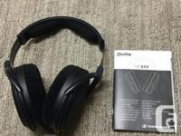 Selling my Sennheiser HD 6XX headphones purchased in