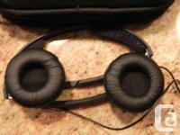 I have two (2) Sennheiser noise cancelling headsets.