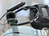 Sennheiser PXC 250 foldable headphones with NoiseGard