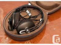 - Audiophile headphones. These are the high-end