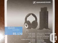 Digital wireless headphones, Sennheiser RS 170.