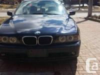 Parting a 2001 BMW 5 COLLECTION totally packed. All