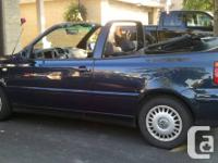 love my car but need to sell 2001 volkswagon cabrio -