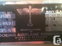 Custom Serial VIN & Model Number Plates. -We make up