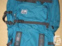 Serratus (MEC) internal frame traveller backpack; full