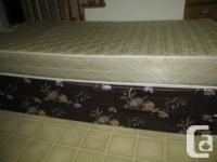 Serta mattress, box spring  single / twin size very