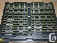 Server Memory Dimms: 2GB DDR1 PC3200 ECC RAM $20each