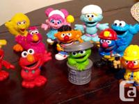 Selling this great lot of various used Seasame Street