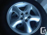 Set of 4 tires off Ford Taurus 2003. These tires will