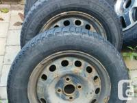 Tires are Michelin Latitude X-Ice 185/65R14 86Q with at