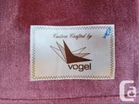 Custom crafted by Vogel (Canadian Company based in