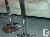 Matching set of 3 bar stools. Asking $120 OBO. $99 each