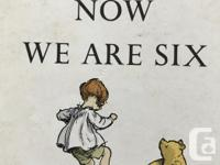 Hard covered, good condition. Memorable A.A. Milne