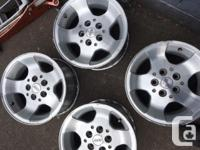 "Set of 4 15"" Jeep TJ rims. In good condition 200.00 for"