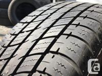 These tires are in great shape They have 80% tread . I