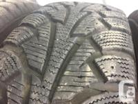 These tires are in good shape They have 80% tread