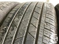These tires are in good shape They have 60% tread