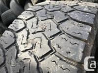 These tires are in decent shape . They have 50 to 60%
