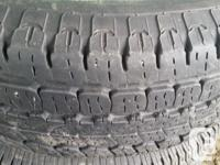 Set of 4 BFGOODRICH All Season Tires - As Good As New!
