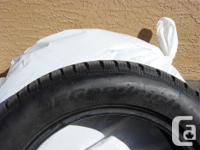 This is a set of 4 winter tires from B.F. Goodrich,