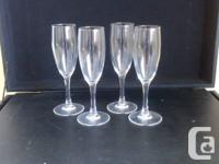 Set of 4 Champagne Glasses - $10   List of All Items
