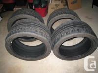 Set of 4 Dunlop SP Sport Maxx Run Flat tires. Take offs