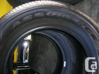 Set of 4 Goodyear Assurance 225/65r/17 - these tires