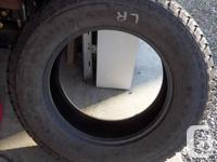 Set of 4 275/65 R18 Kumho Road Venture A/T M&S Tires.