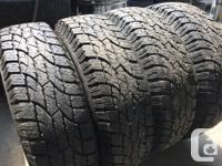 These tires are very hard to find and in excellent