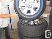 We have a set of 4 LT285/60/R20 Mud & Snow Tires that