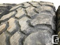 These are very good Quality tires in great shape. 60%