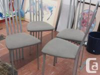 Set of 4 matching dining room chairs as pictured